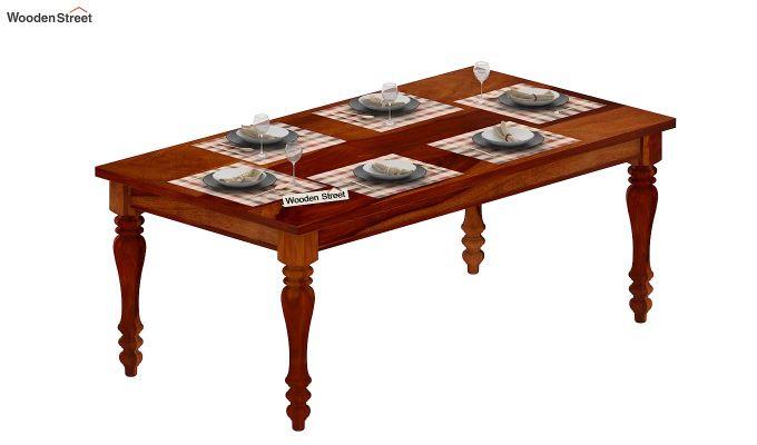 Arenberg Dining Table (Honey Finish)-5