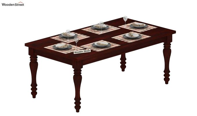 Arenberg Dining Table (Mahogany Finish)-5