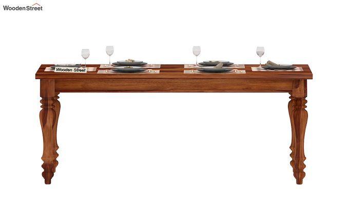Arenberg Dining Table (Teak Finish)-2