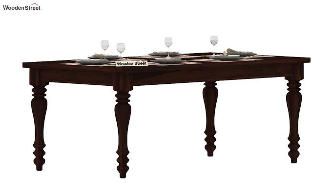 Arenberg Dining Table (Walnut Finish)-2