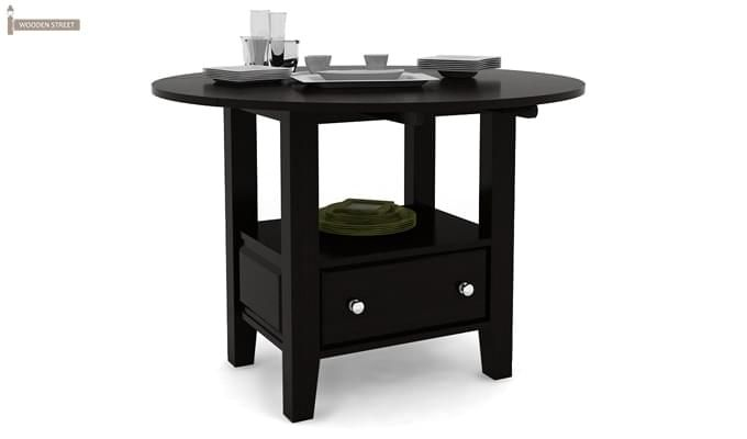 Avian Dining Table (Black Finish)-1