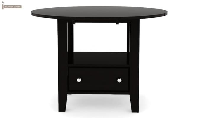 Avian Dining Table (Black Finish)-2