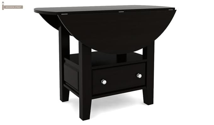Avian Dining Table (Black Finish)-4