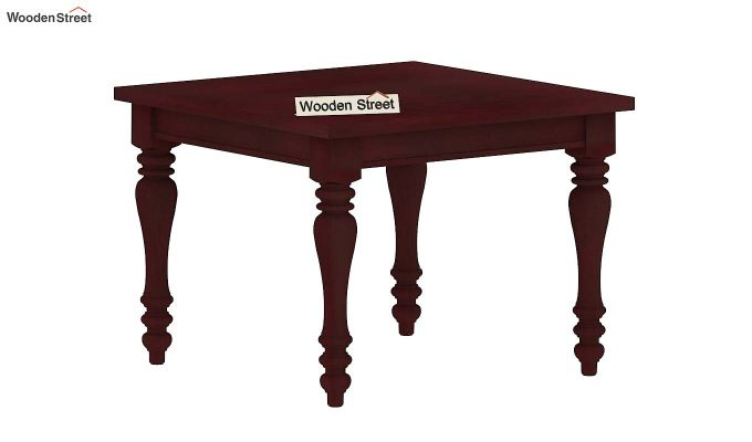 Bonita 4 Seater Dining Table (Mahogany Finish)-4