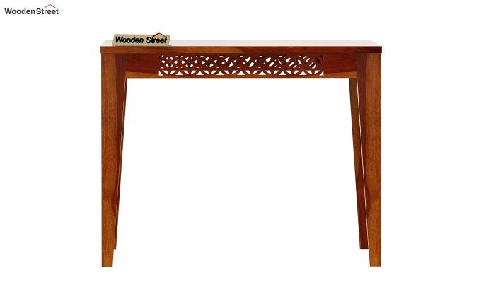 Cambrey 4 Seater Dining Table (Honey Finish)-3