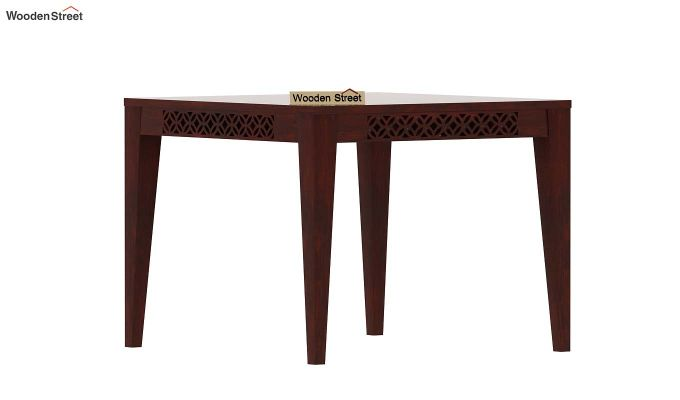Cambrey 4 Seater Dining Table (Mahogany Finish)-2