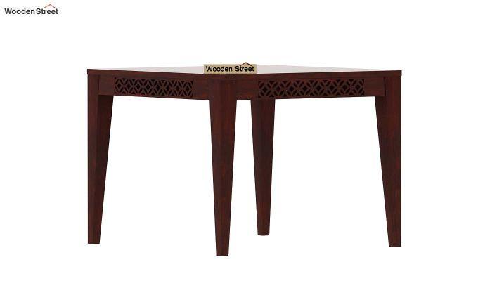 Cambrey 4 Seater Dining Table (Mahogany Finish)-2