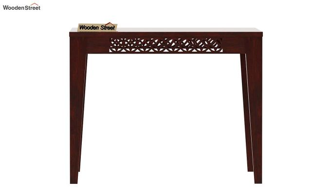 Cambrey 4 Seater Dining Table (Mahogany Finish)-3