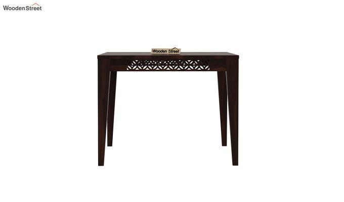 Cambrey 4 Seater Dining Table (Walnut Finish)-3