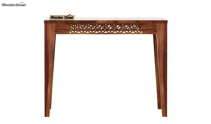 Cambrey 4 Seater Dining Table (Teak Finish)-3