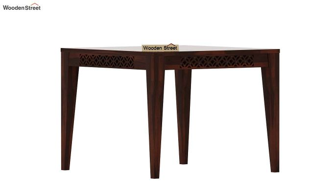 Cambrey 4 Seater Dining Table (Walnut Finish)-3