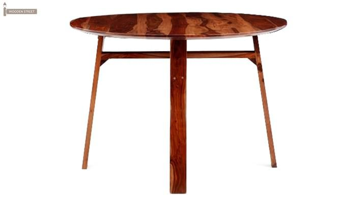 Charlie Dining Table (Teak Finish)-2