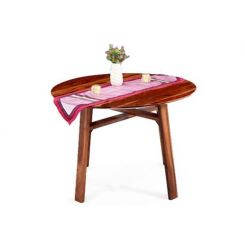 Charlie Dining Table (Teak Finish)