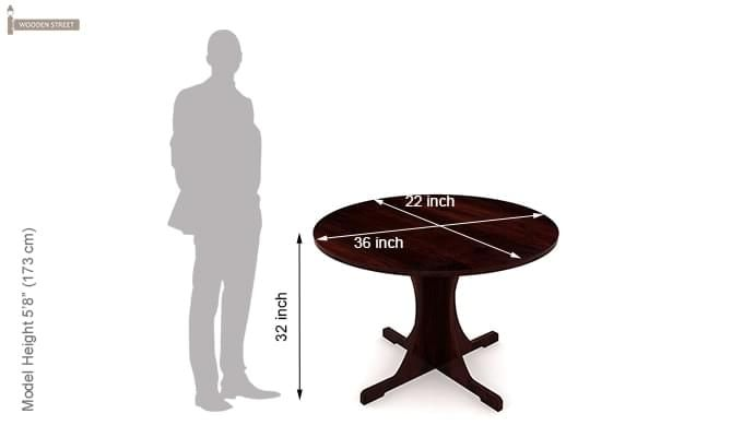 Chelsea Dining Table (Mahogany Touch)-5