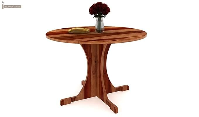 Chelsea Dining Table (Teak Finish)-1