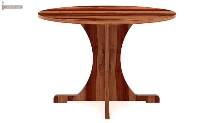 Chelsea Dining Table (Teak Finish)-2