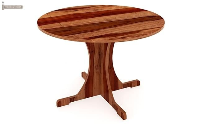 Chelsea Dining Table (Teak Finish)-3