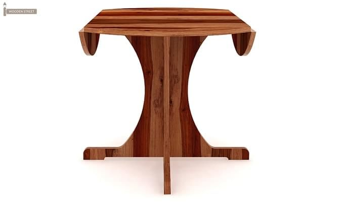 Chelsea Dining Table (Teak Finish)-4