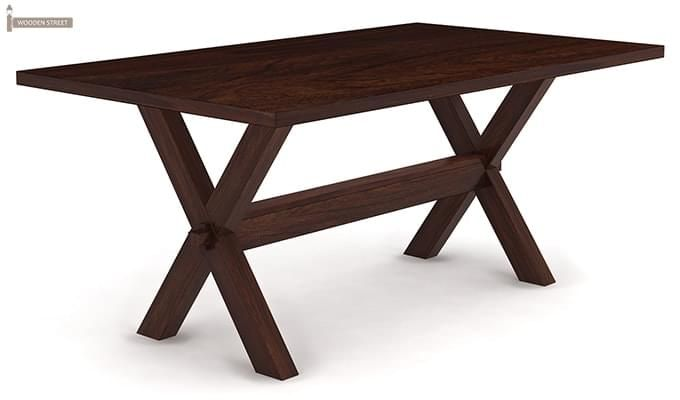 Waltz Dining Table (Walnut Finish)-2