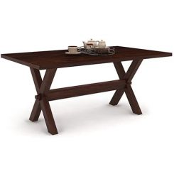 Waltz Dining Table (Walnut Finish)