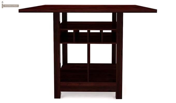 Cornel Dining Table With Storage (Mahogany Finish)-2