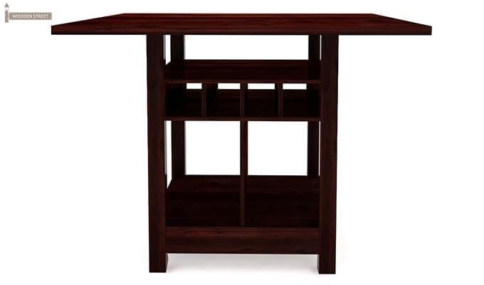 Cornel Dining Table With Storage (Mahogany Finish)-2