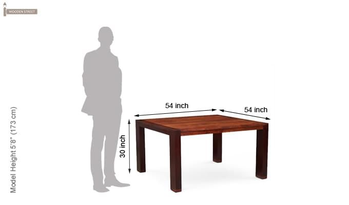 Craven Dining Table (Honey Finish)-3