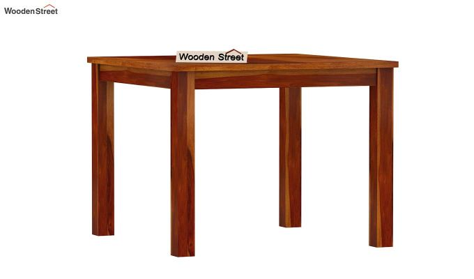 Elaine 2 Seater Dining Table (Honey Finish)-4