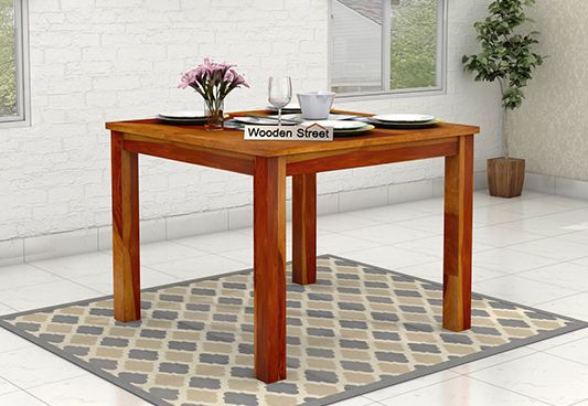 wooden dining table india