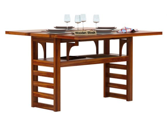 solid wood dining tables online India