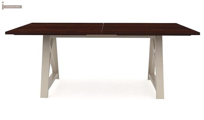 Gail Dining Table (Mahogany Finish)-2