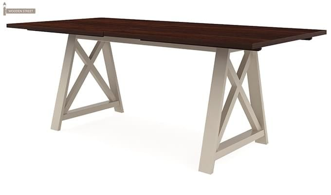 Gail Dining Table (Mahogany Finish)-3