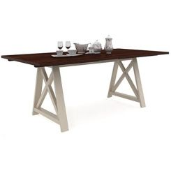 Gail Dining Table (Mahogany Finish)