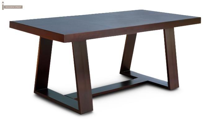 Garson Dining Table (Mahogany Finish)-1