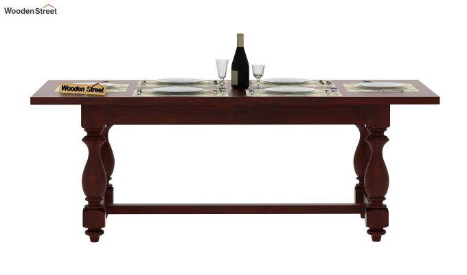 Gorsin Dining Table (Mahogany Finish)-3
