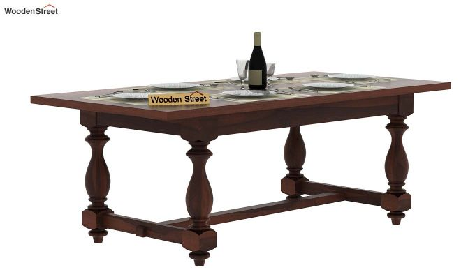 Gorsin Dining Table (Walnut Finish)-1
