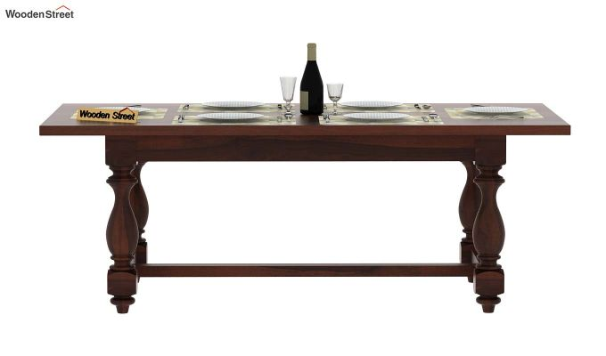 Gorsin Dining Table (Walnut Finish)-2