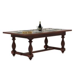 Gorsin Dining Table (Walnut Finish)