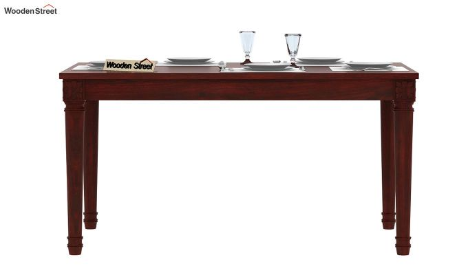 Henson 6 Seater Dining Table (Mahogany Finish)-2