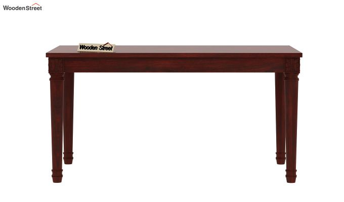 Henson 6 Seater Dining Table (Mahogany Finish)-4