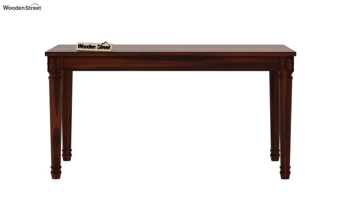 Henson 6 Seater Dining Table (Walnut Finish)-5