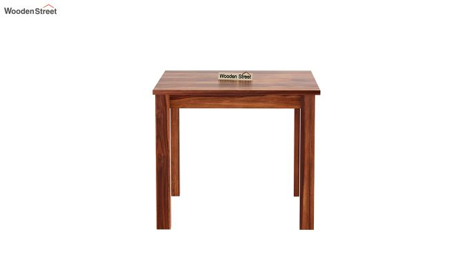 Janet 4 Seater Dining Table (Honey Finish)-3
