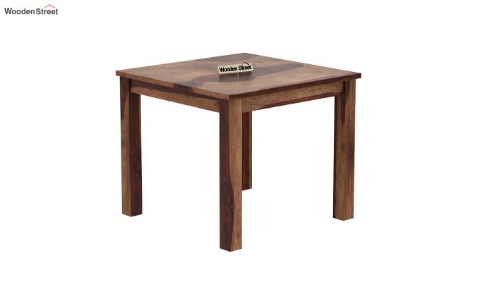 Janet 4 Seater Dining Table (Teak Finish)-2