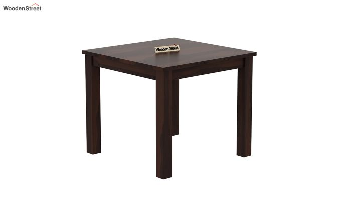 Janet 4 Seater Dining Table (Walnut Finish)-2