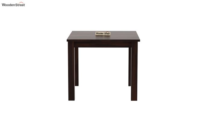 Janet 4 Seater Dining Table (Walnut Finish)-3