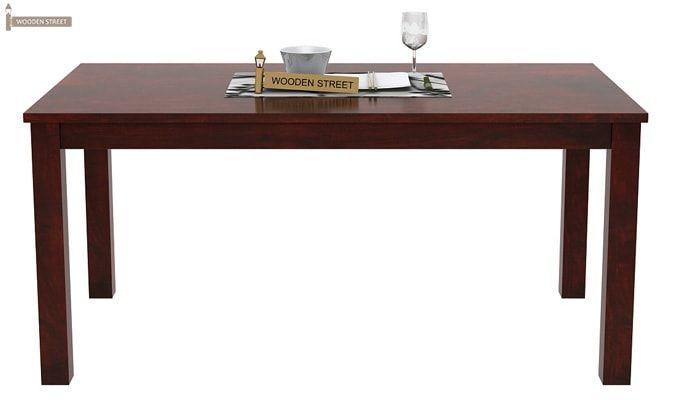 Janet Store Dining Table (Mahogany Finish)-2