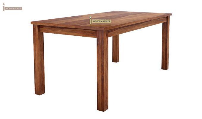 Janet Store Dining Table (Teak Finish)-1