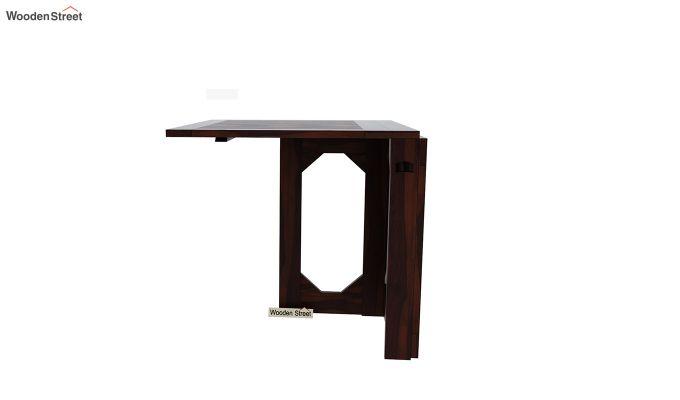 Paul Foldable Dining Table (Walnut Finish)-5