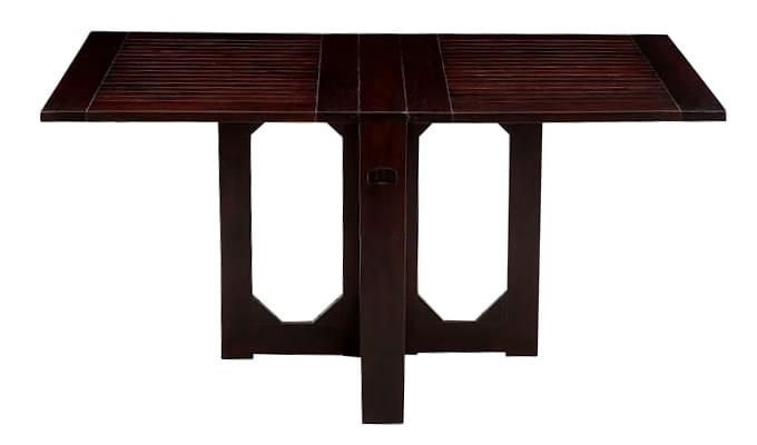 Paul Dining Table (Mahogany Finish)-2