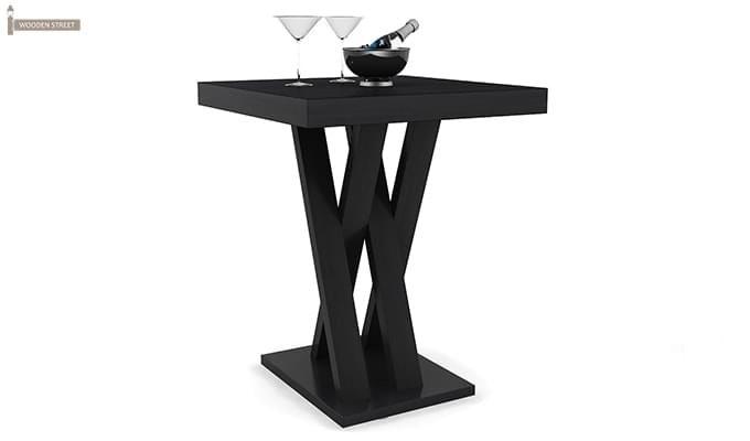 Paulson Dining Table (Black Finish)-1